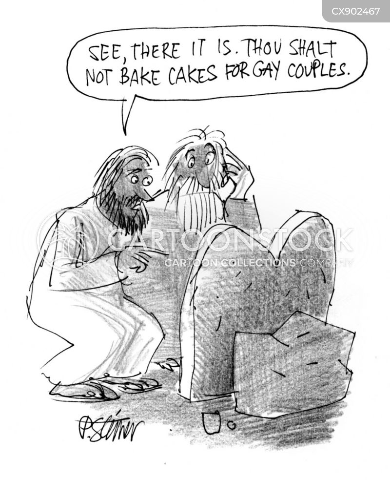 ten commandments cartoon