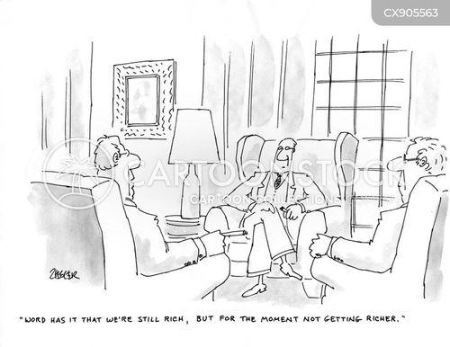 1 percent cartoon
