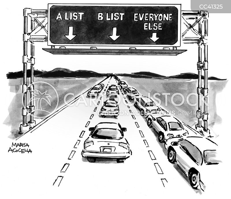 lanes cartoon