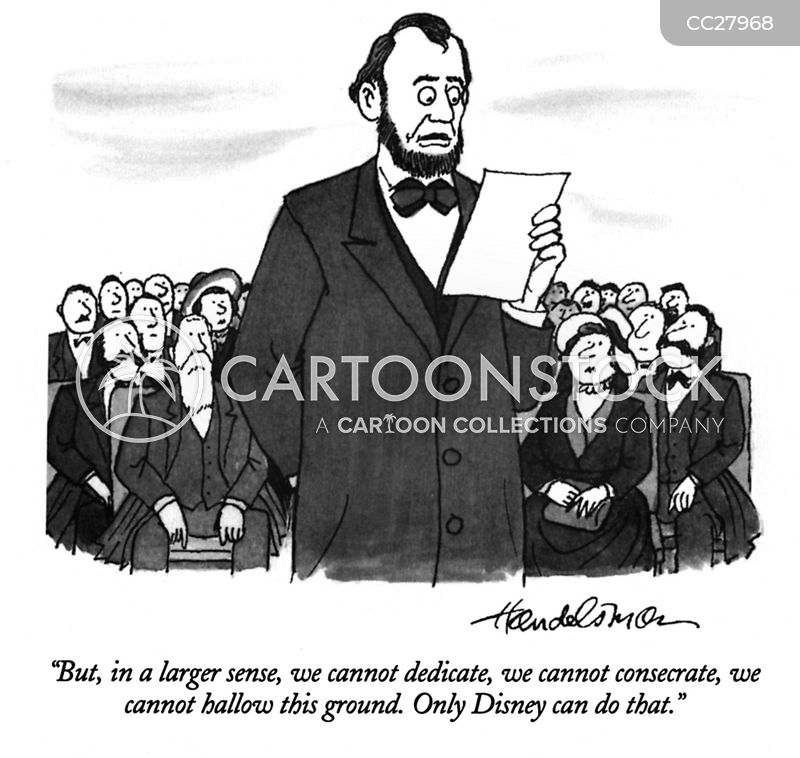 commercialization cartoon