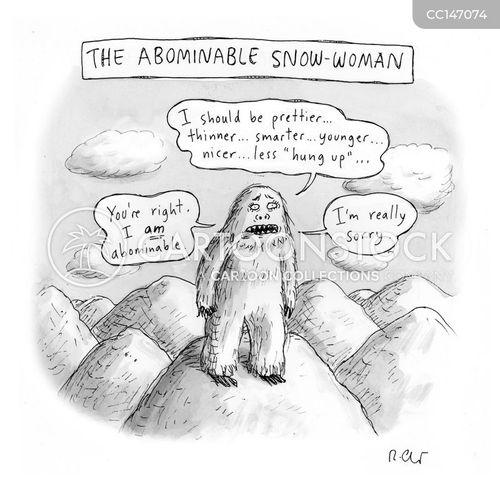 unrealistic expectations cartoon