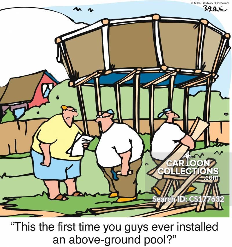 installing cartoon