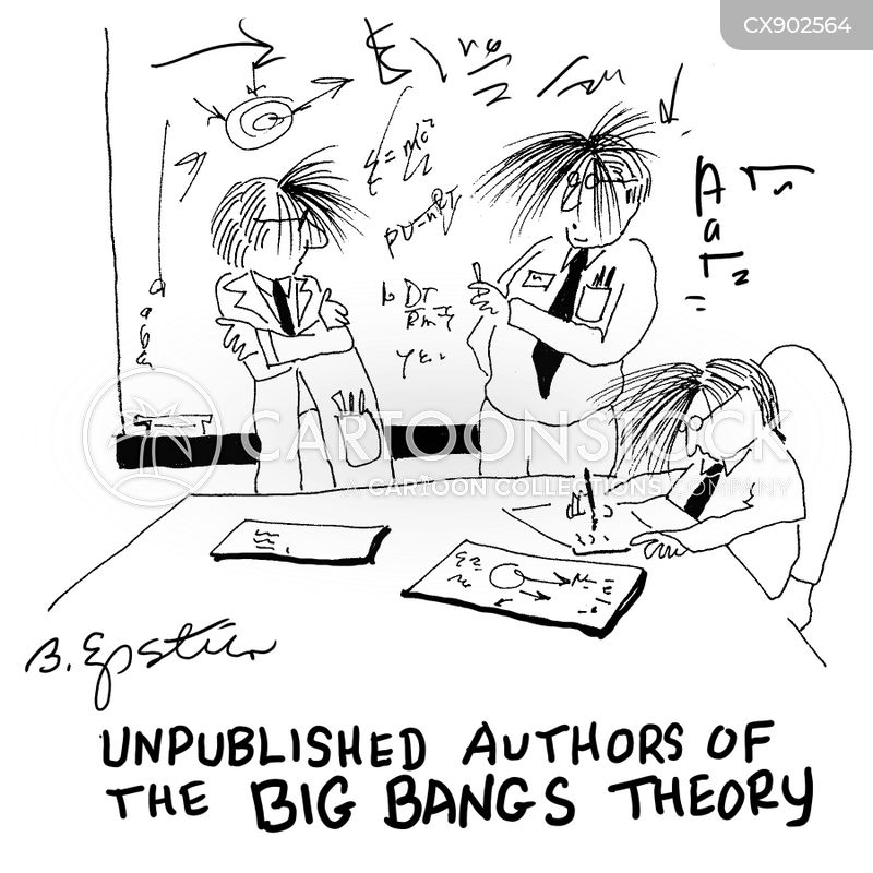 theoretical physicists cartoon