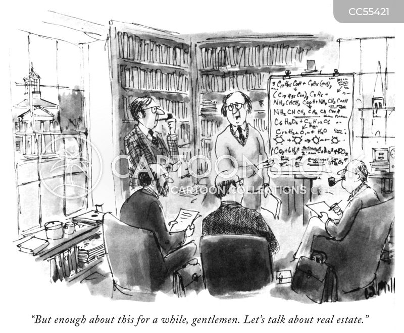 academics cartoon