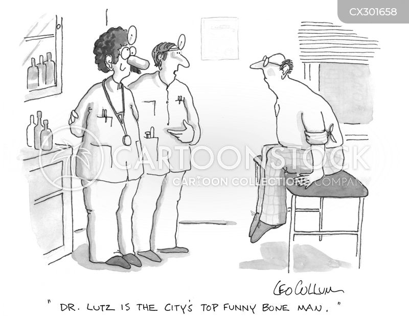 broken bones cartoon