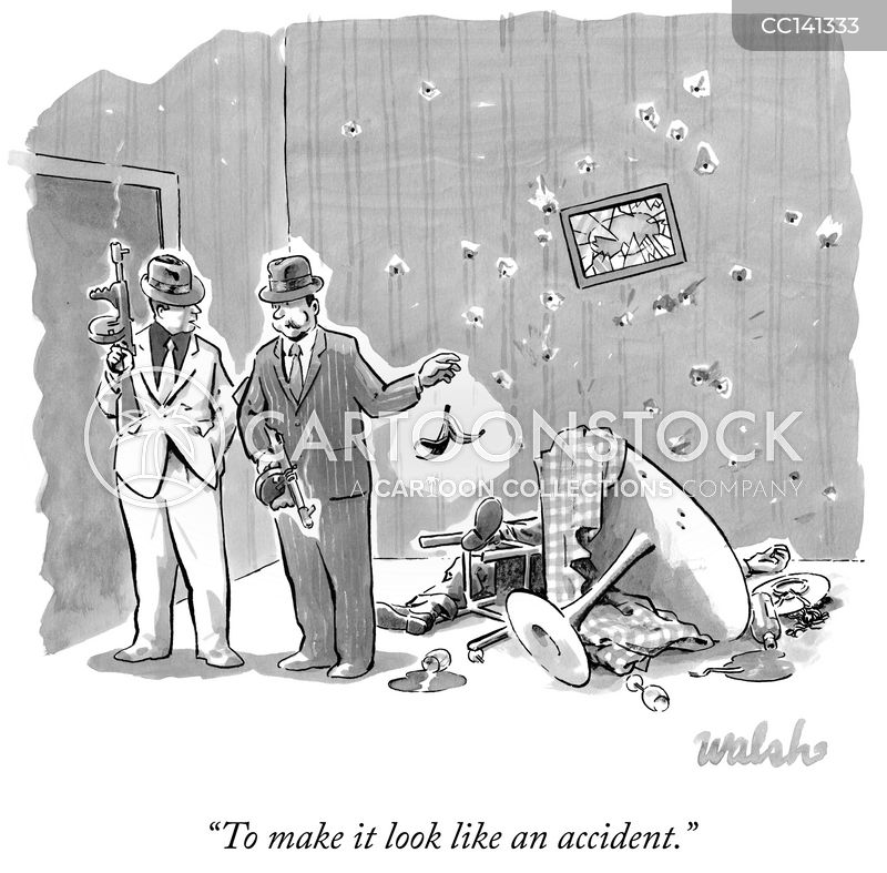 forensic investigation cartoon