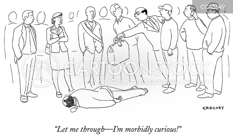 fainting cartoon