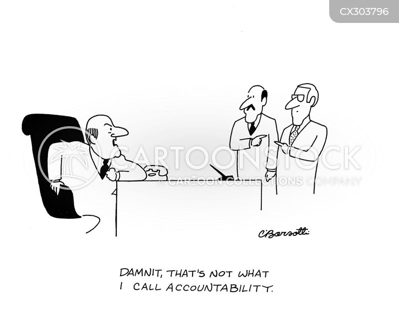 accountable cartoon