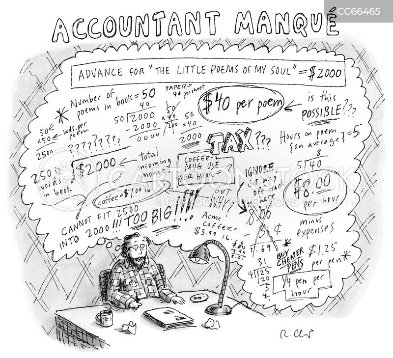 finance cartoon