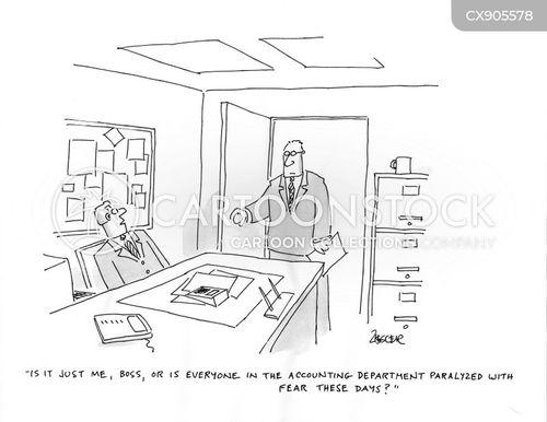 afraid cartoon