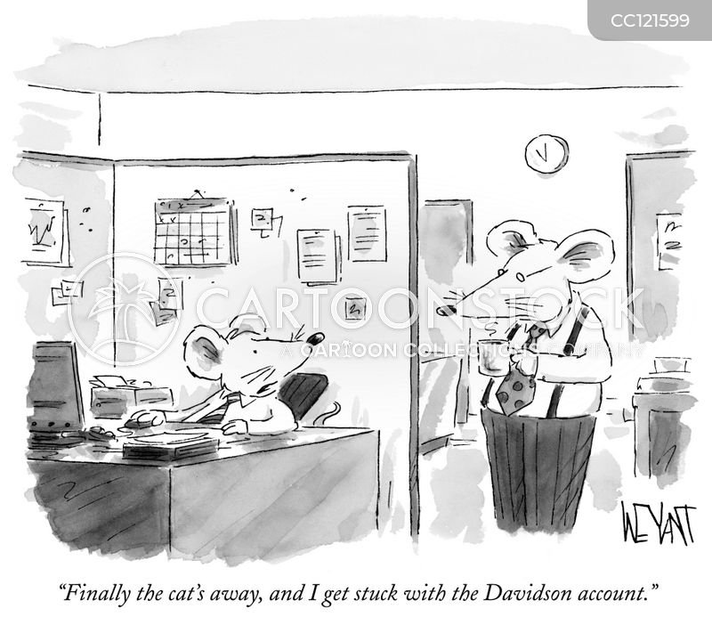 Office Job cartoon