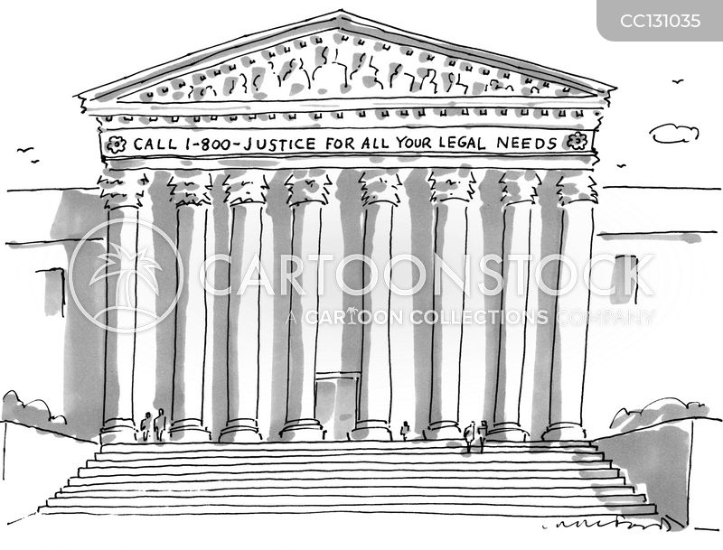 supreme court justice cartoon