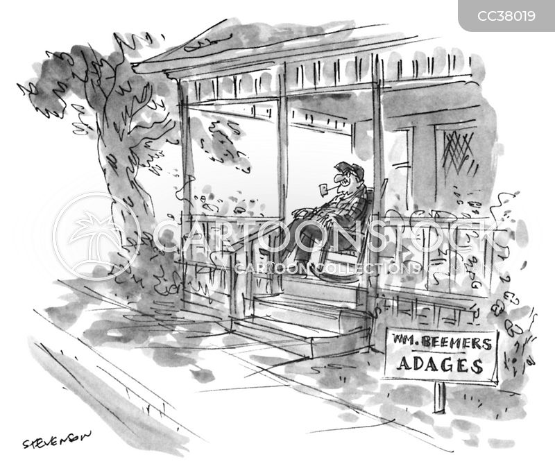 Adage cartoon
