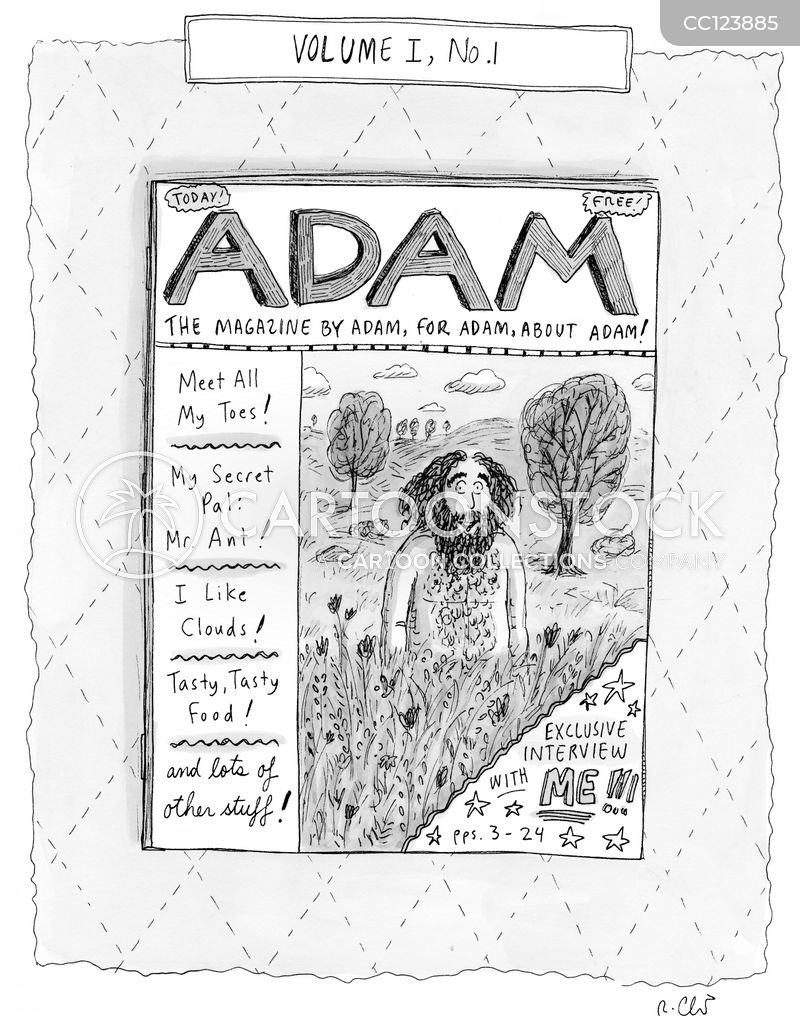 magazines cartoon