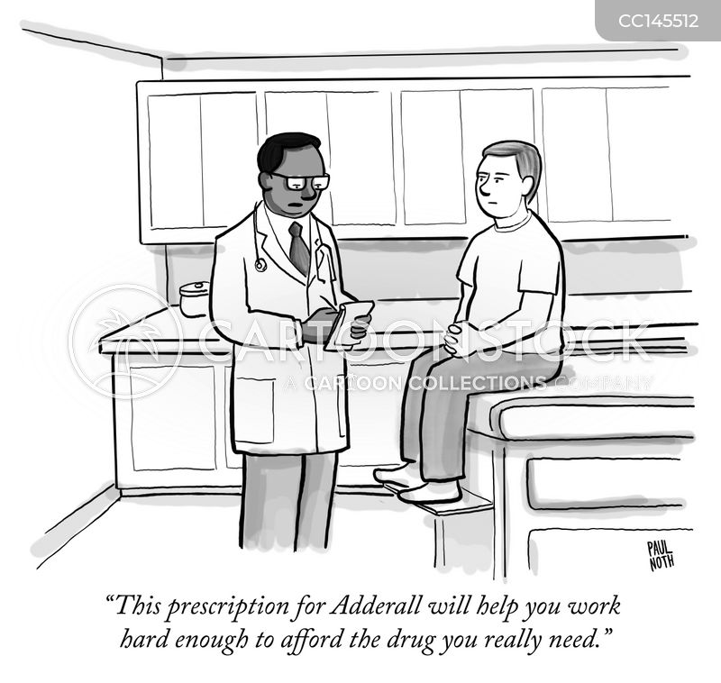 prescription medication cartoon