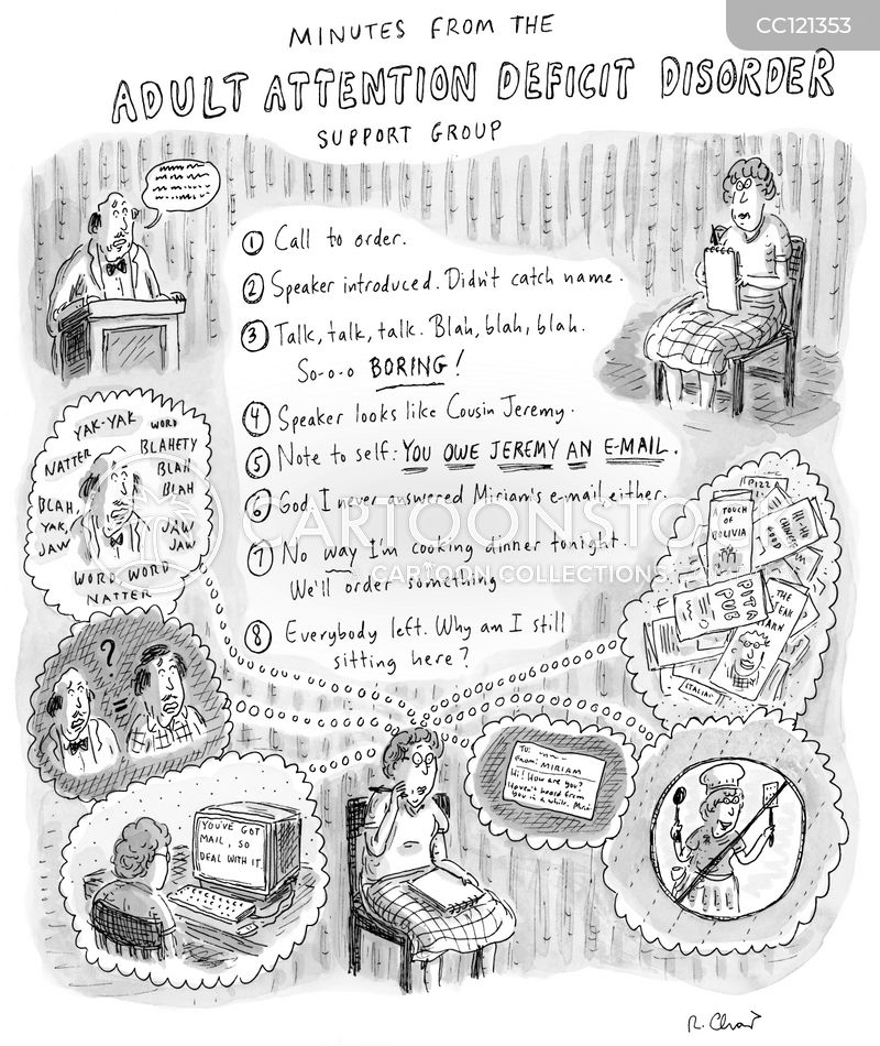attention span cartoon