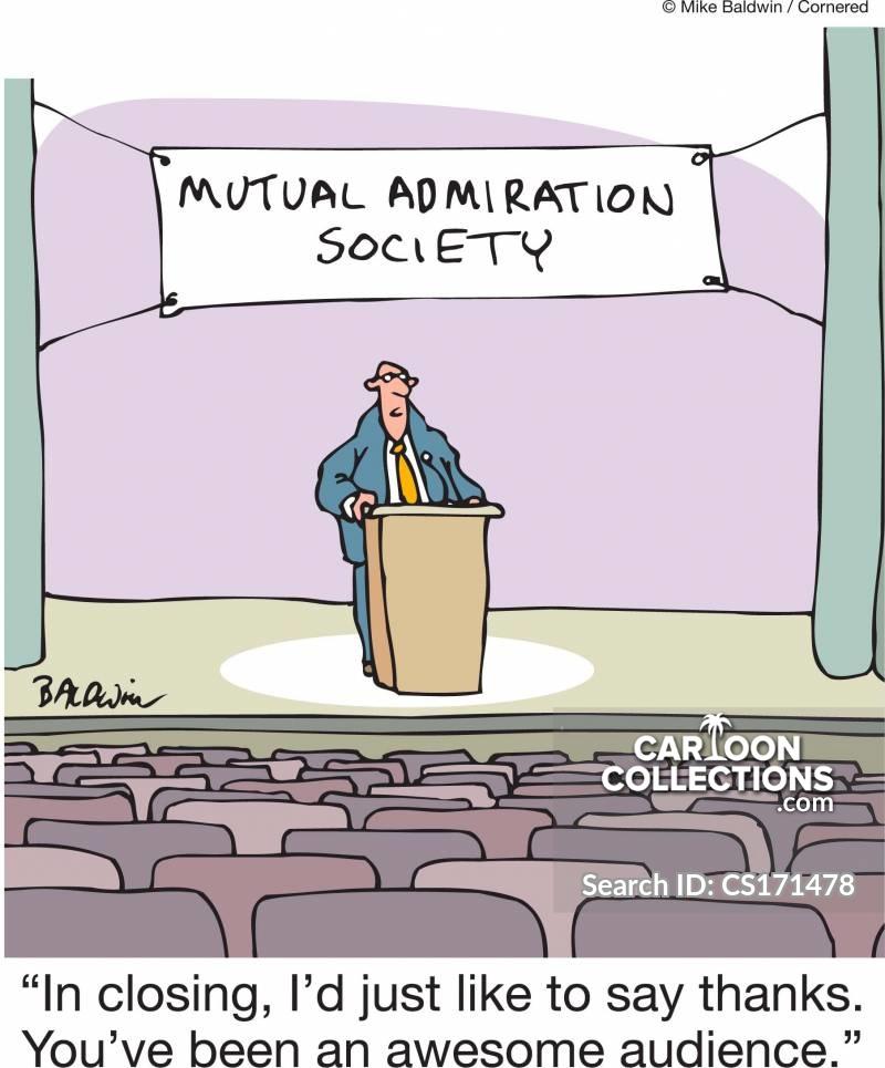 group talk cartoon