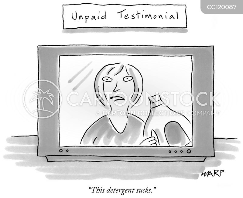 commercials cartoon