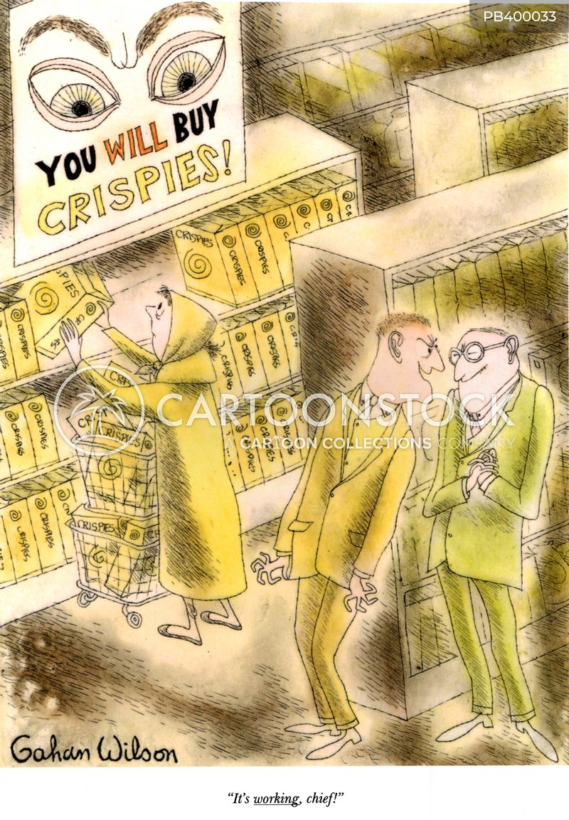 consumption cartoon