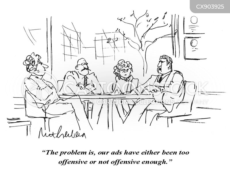 marketing execs cartoon