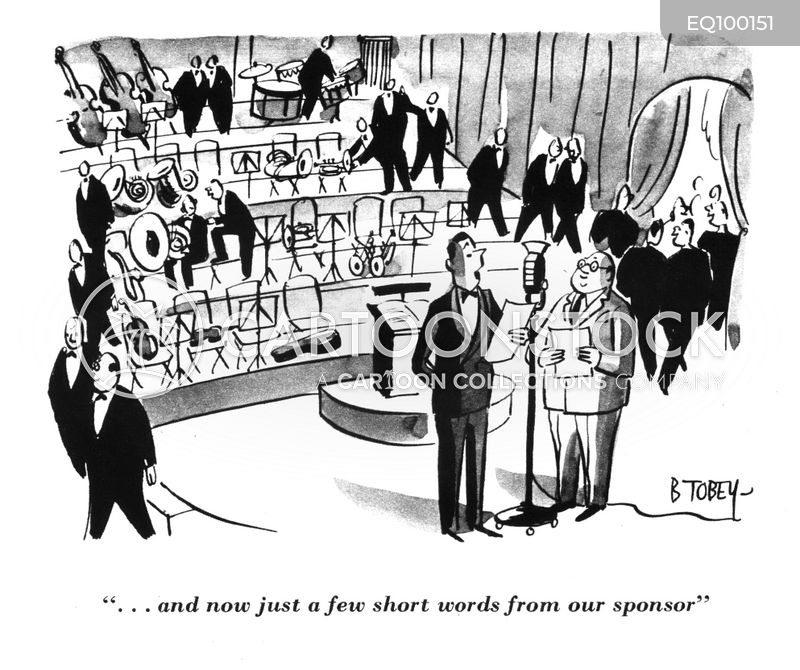 marketting cartoon