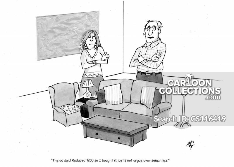 furniture reductions cartoon