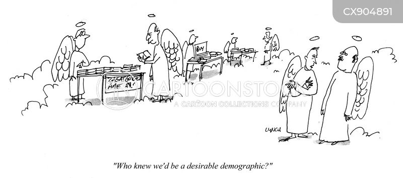 key demographics cartoon