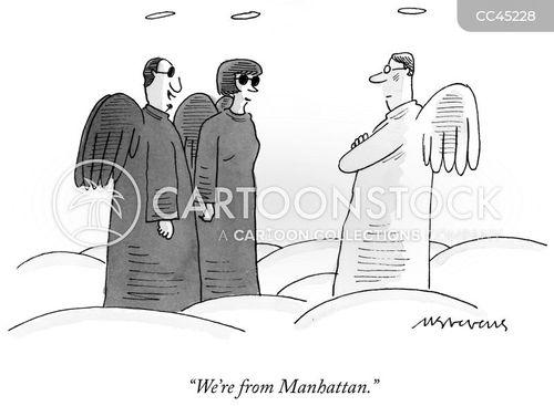 manhattanites cartoon