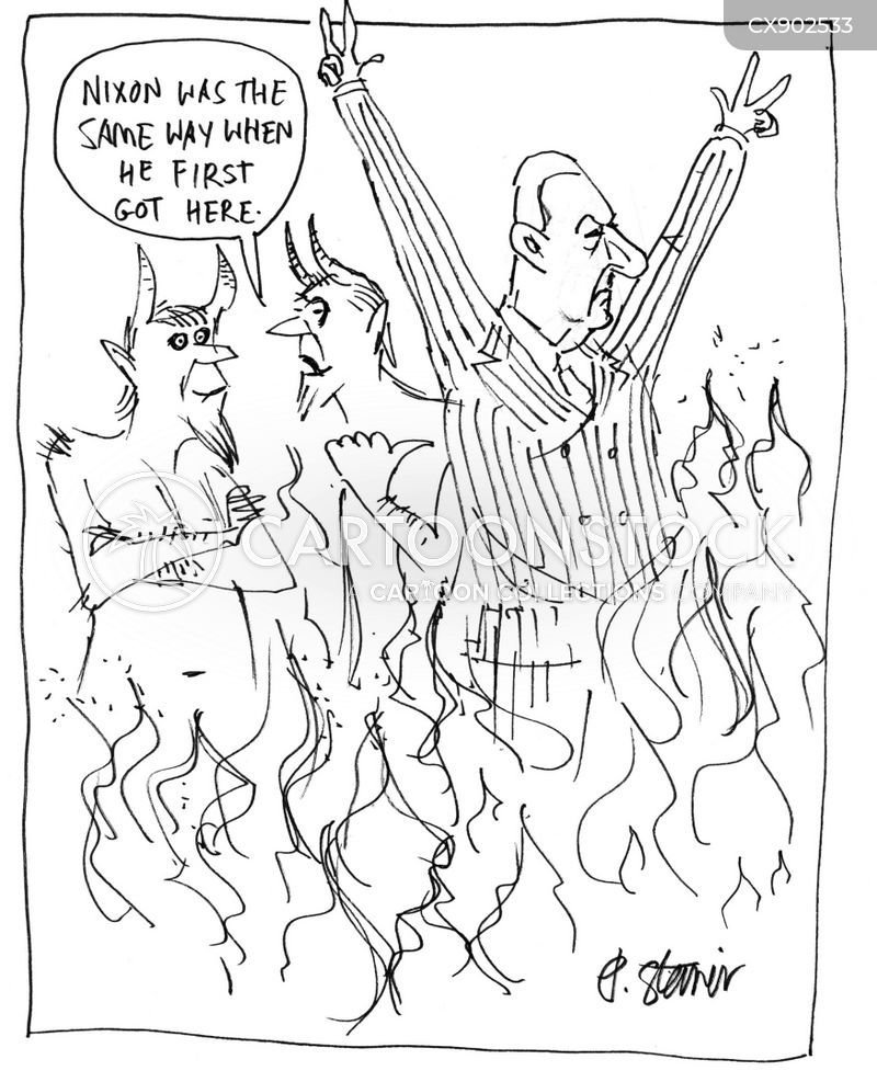 nixon cartoon