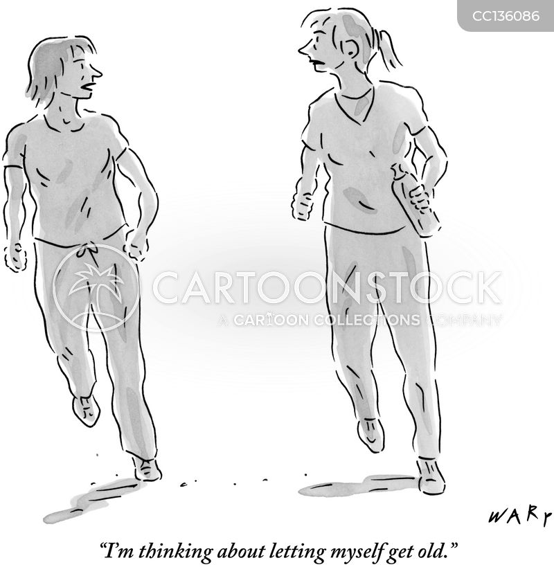 joggers cartoon