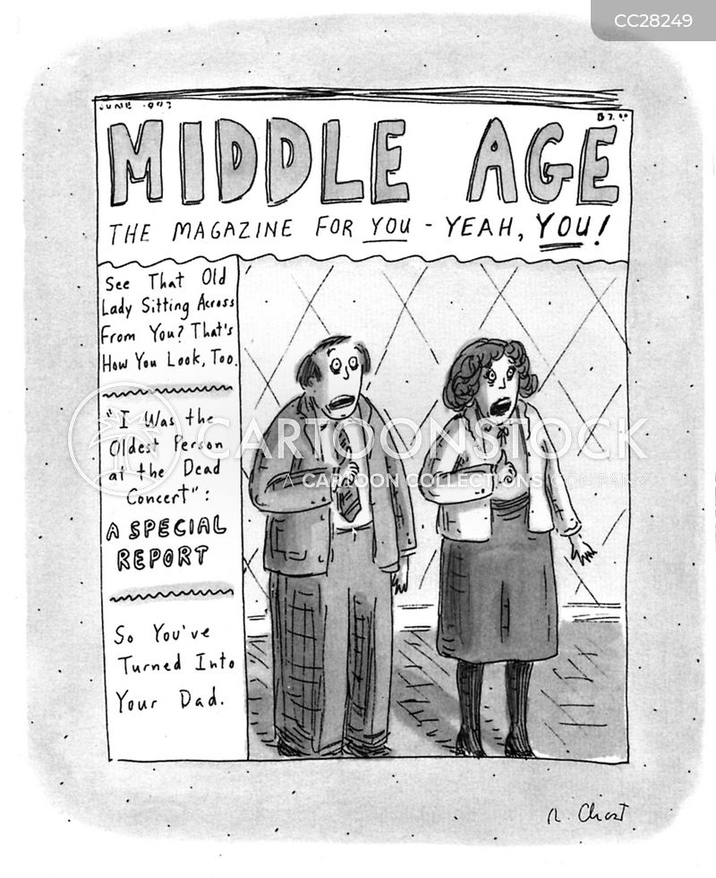 midlife cartoon
