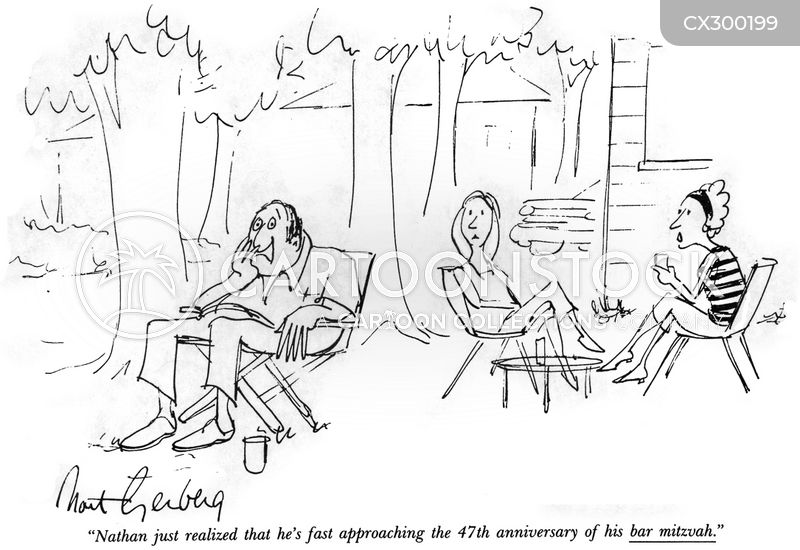 coming of age ceremonies cartoon