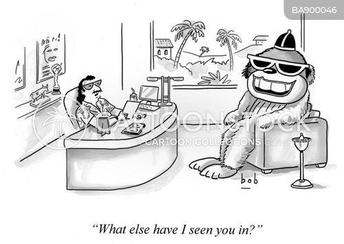 minor celebrity cartoon