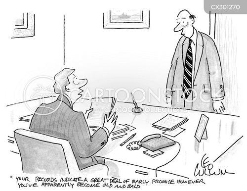 quarterly review cartoon