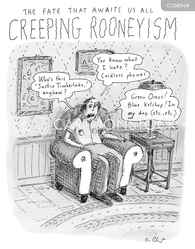 creeping cartoon