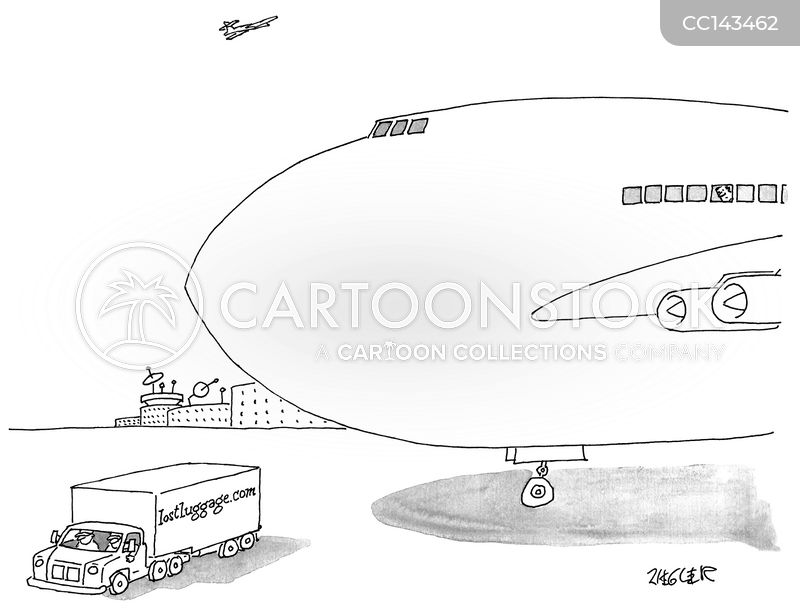 baggage cartoon