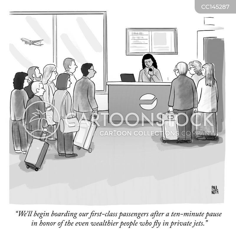 private jets cartoon