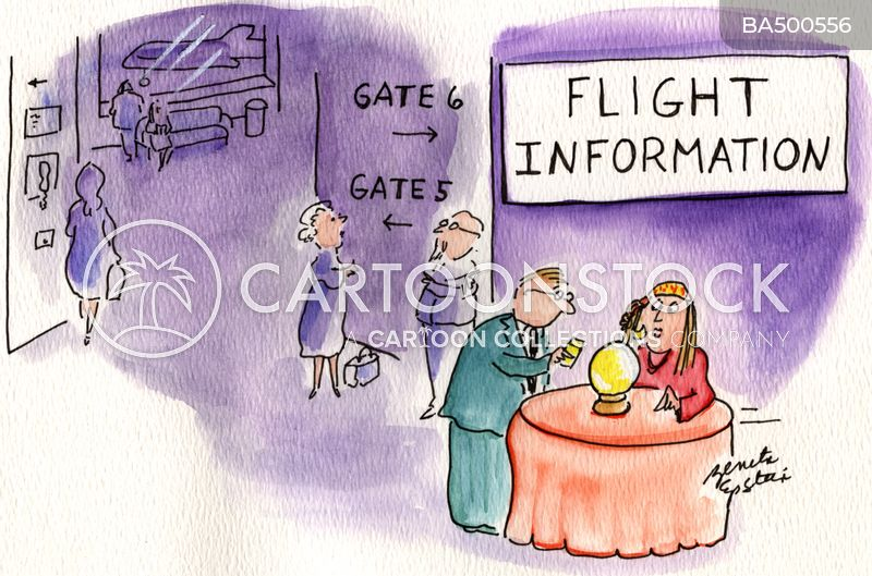 flight cancellation cartoon