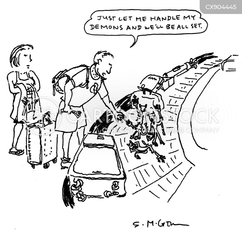 visual puns cartoon