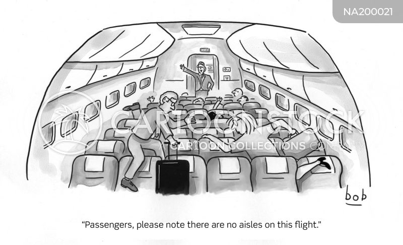aisle seat cartoon
