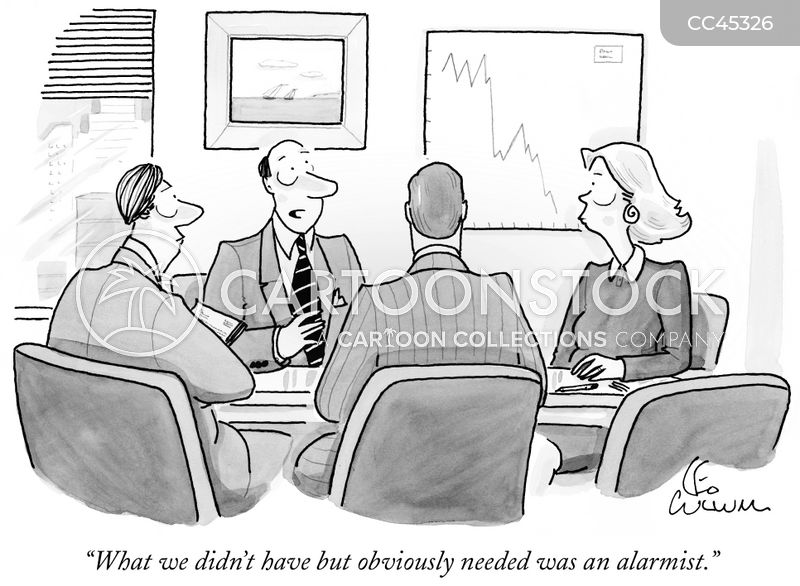 alarmists cartoon