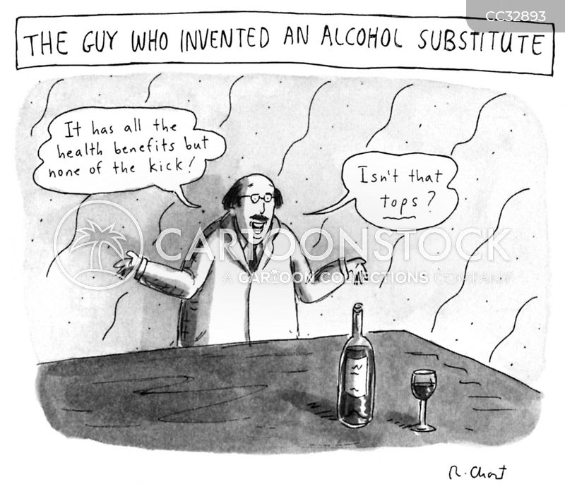 Nonalcoholic cartoon