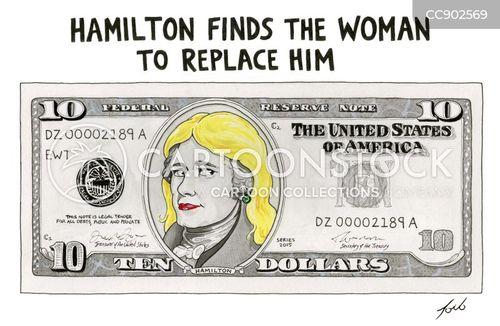 hamilton cartoon