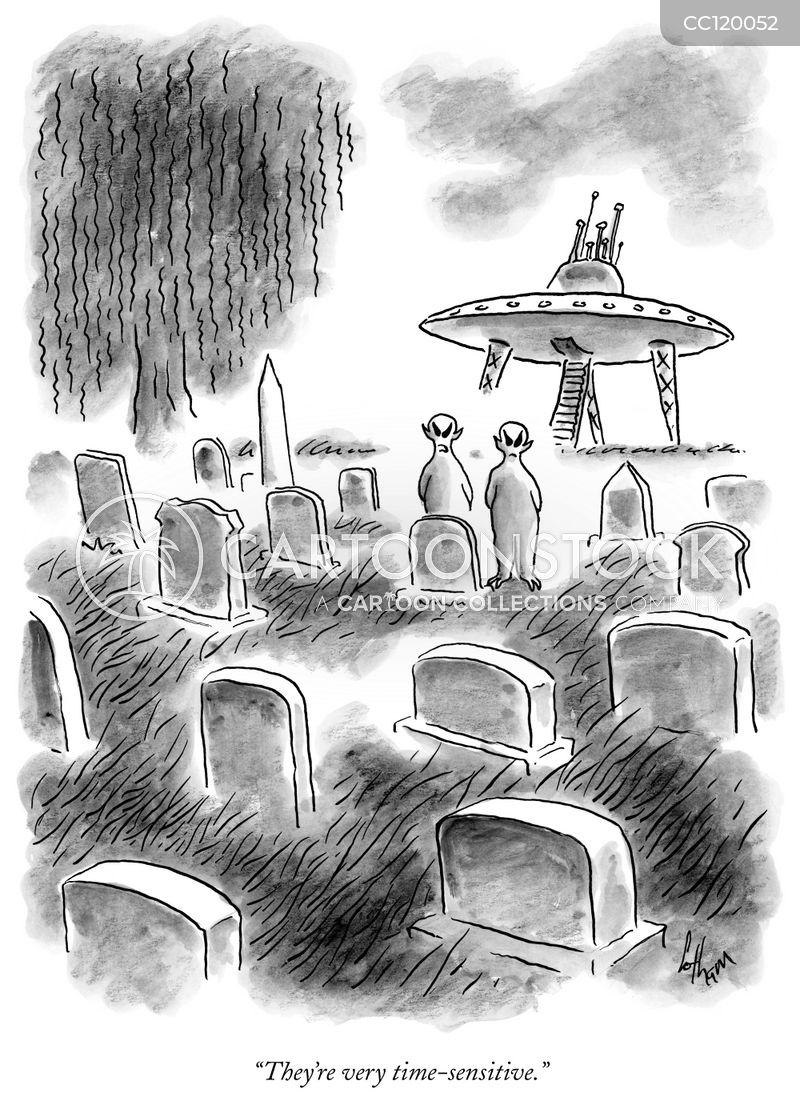 gravestones cartoon