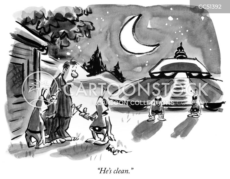 extraterrestrial cartoon
