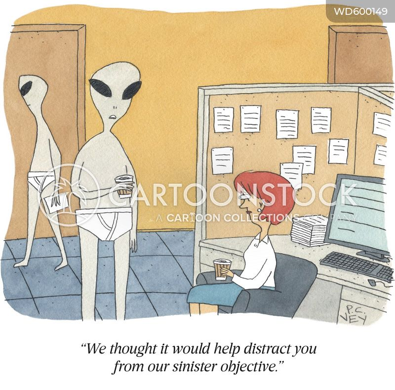 extraterrestrials cartoon