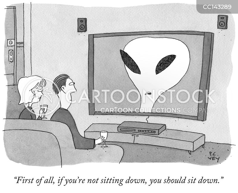 extra-terrestrial cartoon