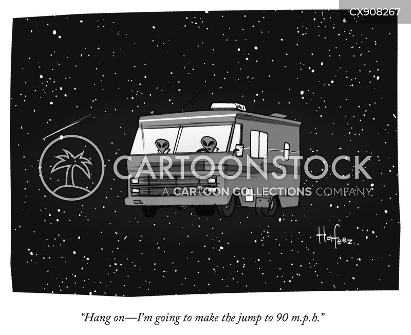 outerspace cartoon