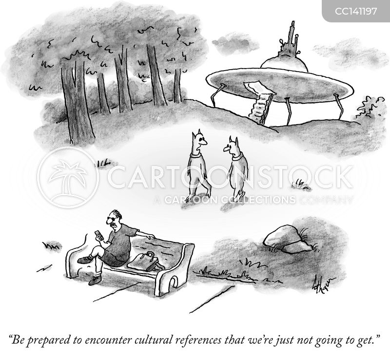 Ufos cartoon