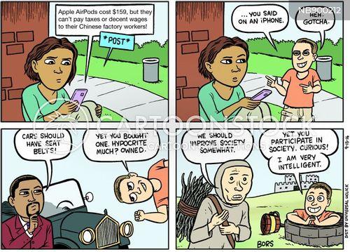 right wing cartoon